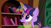 "Twilight slight panic ""no!"" S5E3"