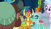 """Yona sternly says """"no!"""" at Smolder S9E3"""