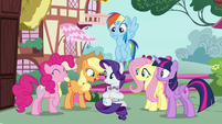 """Applejack """"you don't have to say anything"""" S7E19"""