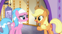 Applejack --I can finally relax in the steam-- S6E10