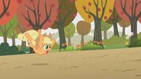 Applejack falling S01E13
