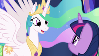 "Celestia ""I loved having you as a student"" S7E1"