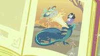 Fairy tale of knight saving princess from a dragon S7E8