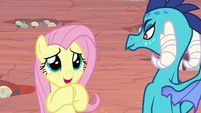 """Fluttershy """"just tell me what to do!"""" S9E9"""