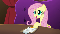 """Fluttershy """"sat down and talked to each other"""" S6E20"""