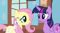 "Fluttershy ""yes, that's right"" S4E16"