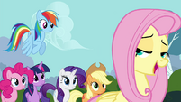 """Fluttershy """"you can do it, Breezies"""" S4E16"""