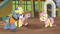 Fluttershy -my vision isn't the problem here!- S7E5