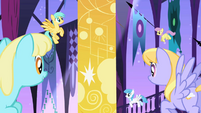 Pegasi looking at sun banner S1E01