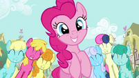 Pinkie Pie marching smile S2E18