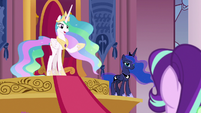 "Princess Celestia ""there's nothing wrong here"" S7E10"