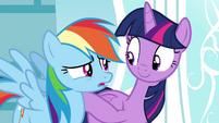 """Rainbow """"But how?"""" S4E21"""