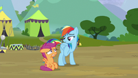 """Rainbow """"you can if you're with me"""" S8E20"""
