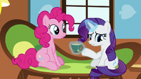 Rarity -thought he'd act in such a manner- S7E5