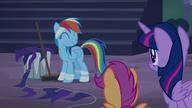 S06E07 Mimo kary, Rainbow jest szczęśliwa