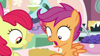 "Scootaloo very surprised ""whoa!"" S9E23"