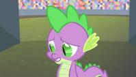 """Spike """"I guess..."""" S4E24"""