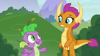 """Spike """"how to be a real dragon"""" S8E24"""
