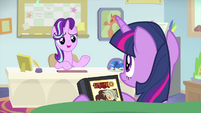 Starlight Glimmer suggests hypnosis MLPS4