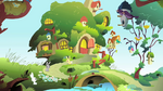 View of Fluttershy's Cottage S1E22.png