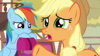 """AJ """"some ponies just don't click the way others do"""" S4E18"""