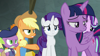 "Applejack ""truth is a huge part of friendship"" S8E7"