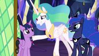 Celestia and Luna thanking Twilight S9E13