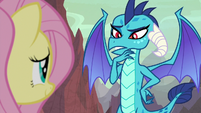 Ember trying to remember Fluttershy's name S9E9