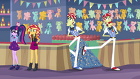 Flim and Flam with a large pile of tickets EGROF