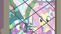 """Fluttershy """"she loves shiny things"""" MLPBGE"""