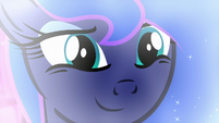 Luna smiles as she lets go of the past S5E13