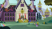 Princess Luna at the School for Gifted Unicorns S7E10