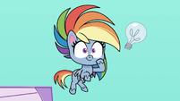 Rainbow Dash thinks of an idea PLS1E2b