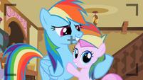 Rainbow Dash with Piña Colada S2E8
