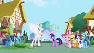 S02E02 Celestia w Ponyville