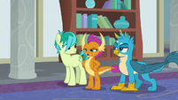 "Smolder ""dragons and griffons are just too tough"" S8E1"