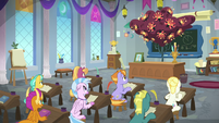 Dragon-sneeze tree in a friendship class S8E15