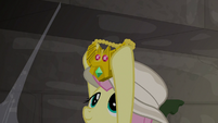 Fluttershy catches the Truth Talisman S9E21