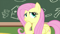 Fluttershy thinking of an idea MLPS3