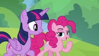 "Pinkie Pie ""Celestia was kind of a jock"" S9E15"