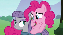 """Pinkie Pie """"what's his favorite color?"""" S8E3"""