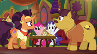 Pinkie Pie copying Rarity S6E12