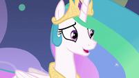 "Princess Celestia ""my apologies"" S8E7"