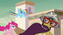 """Rainbow Dash """"we picked a bad example"""" S7E18"""