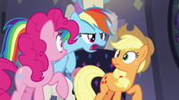 """Rainbow Dash """"well, let's find out!"""" S8E4"""