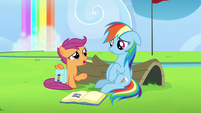 """Scootaloo """"and you yelled at them"""" S7E7"""