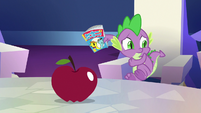 Spike about to run away S7E2