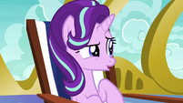 Starlight Glimmer uncomfortable with the silence S6E21