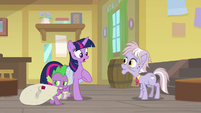 "Twilight ""looking all over Equestria"" S9E5"