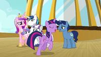 Twilight Sparkle rejoining her family S7E22